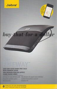 *NEW* Jabra FREEWAY Bluetooth In-Car Speaker-Music-Calls-Speakerphone-Wireless