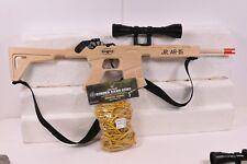 MAGNUM RUBBER BAND GUNS GL2JRAR15SS JR.AR-15 COMBAT W/ SCOPE & SLING PLUS AMMO