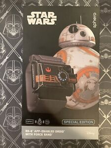 BB-8 Sphero Special Edition App-Enabled Droid w/  Force Band STAR WARS Sealed