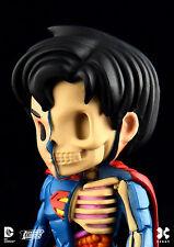"JASON FREENY ""superman"" XRAY - ed-lim + boite /medicom/mighty jaxx/kidrobot/kaws"