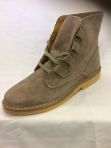 M327 Ghillie  Lace Up Mens CREPE like Suede Desert Boots Gents Sizes 6789101112
