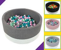 Tweepsy Baby Round Foam Ball Pit with 250 Plastic Balls - BKOE2