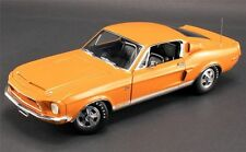 1968 FORD SHELBY GT 500 KR ACME 1:18 ORANGE / BLACK INTERIOR DIECAST GMP