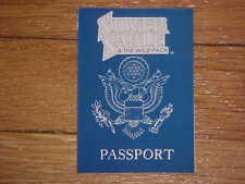 New listing Marvel's Silver Sable (&The Wild Pack) Promotional Passport 1991