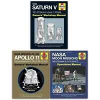 Haynes NASA Manual 3 Books Collection Set NEW