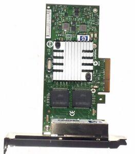 HP Quad Port Gigabit Ethernet Adaptateur PN NC365T 593743-001 593720-001