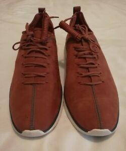 Cole Haan C2350 GrandMotion Suede Nubuck Sneakers Burgundy uk 10 eu 44