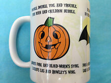 HALLOWEEN SPIDER BAT PUMPKIN MUG OFFICIAL VIA PYRAMID INT BOXED NEW CERAMIC MUG