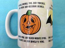 Halloween spider chauve-souris citrouille tasse officiel via pyramid int boxed new mug céramique