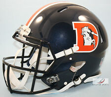 DENVER BRONCOS (2016 COLOR RUSH) Riddell Full-Size Speed Authentic Helmet