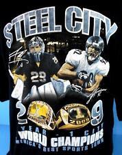 PITTSBURGH STEELERS & PENQUINS *2009 Champions* T-Shirt (xL)