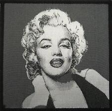 Marilyn MONROE ricamate/Patch # 1 - 9x9 cm