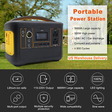 568Wh 500W Power Station Explorer Lithium Battery Solar Generator Portable
