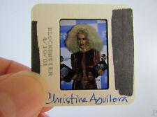 More details for original press photo slide negative - christina aguilera - 2001 - aa