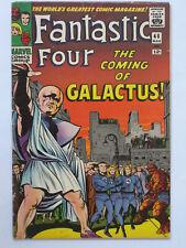 Fantastic Four # 48 us Marvel 1966 1st app Galactus & Silver Surfer FN