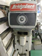 Bridgeport Cnc Milling Machine Series Ii Head