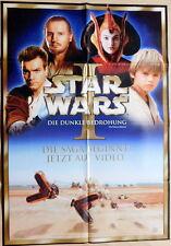 Star Wars EPISODE I EP1 original Mediatheken Plakat A1
