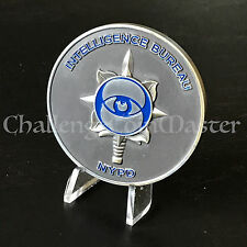 B82 NYPD Intelligence Bureau Eye Dagger Police Challenge Coin