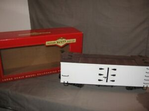 "Bachmann Big Haulers G Scale ""L"" Reefer Car #93270 Org Box VGC"