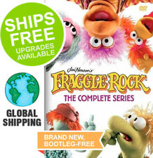 Fraggle Rock Complete Series Collection (DVD, 2018) NEW, Jim Henson, Puppet