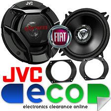 FIAT BRAVA 1995 - 2014 JVC 13cm 520w 2 vie Porta Anteriore Altoparlanti Auto & STAFFE