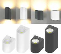 Wandleuchte für Außen Lampe LED GU10 Licht Außenlampe Wasserdicht Beleuchtung