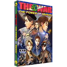 EXO 4th REPACKAGE ALBUM: THE POWER OF MUSIC, CD+COMIC+PHOTOCARD, KOREAN, SEALED