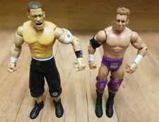 WWE Figura Bundle tra cui John Cena all'& ZACK RYDER Internet CHAMPION Zak