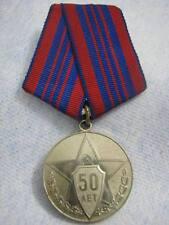 1967 Soviet Police 50 Years Russian Medal Original