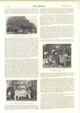 1899 Thomas Walker Torry Aberdeen viaje Ovejas Esquilar Hyde Park Dr. Carl Peters