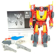 TRANSFORMERS REVEAL THE SHIELD HASBRO 2010 BATTLE IN SPACE RODIMUS HOT ROD LOOSE
