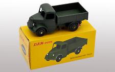 DAN TOYS Bedford Camion Plateau Militaire Vert Kaki (Série de 500 Exemplaires