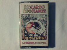 RICCARDO COCCIANTE La grande avventura mc cassette k7 SIGILLATA SEALED!!!