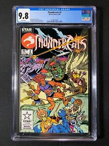 Thundercats #2 CGC 9.8 (1986)