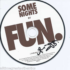 FUN. BAND SIGNED AUTHENTIC 'SOME NIGHTS' CD w/COA ANDREW DOST WE ARE YOUNG