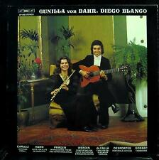 GUNILLA VON BAHR & DIEGO BLANCO carulli hahn prager werdin LP Mint- LP 60 BIS