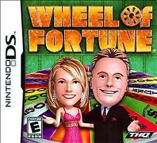 Wheel of Fortune (Nintendo DS, 2010) New but slightly damaged case DEAL!!