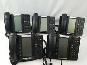 LOT of 5 - Mitel 5320 IP Phone 50006191, Office, Medical, Warehouse, Retail
