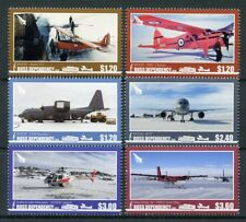 Ross Dependency NZ 2018 MNH Aircraft Airplanes Helicopters 6v Set Avation Stamps