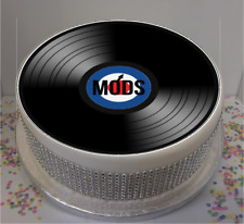 """Novelty MODS Vinyl Look 7.5"""" Edible Icing Cake Topper, birthday, party"""