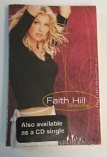 "Faith Hill ""Breathe / It All Comes Down"" Rare Cassette Tape Single - NEW SEALED"