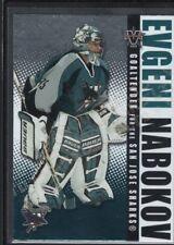 EVGENI NABOKOV 2002/03 VANGUARD #85 LTD PARALLEL SHARKS SP #012/450