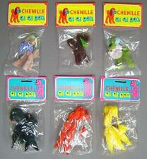 1979 Vintage set of 6 Chenille Gi Gi Dogs Poodles etc.Taiwan