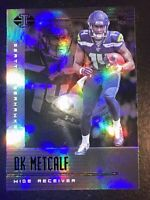 DK Metcalf 2019 Panini ILLUSIONS Jersey #14 Rookie Refractor Seattle Seahawks!