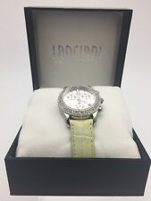 Lanciani Mint Green Leather Water Resistant Watch **NEW MINT CONDITION**