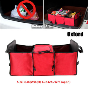 1PC Foldable Car Trunk Cargo Box Trunk Storage Organizer Containers Bag Portable