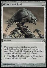 4x Glint Hawk Idol Scars of Mirrodin MtG Magic Artifact Common 4 x4 Card Cards