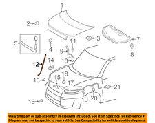 Scion TOYOTA OEM 08-15 xB Hood-Support Prop Rod 5344012121
