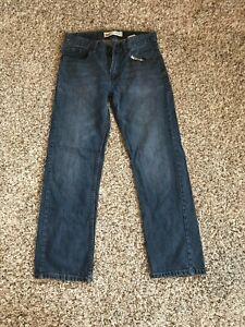 Levis 505 Boys Straight Fit Jeans 16 Reg 28x28