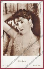 BILLIE DOVE 03b Lillian Bohny ATTRICE ACTRESS CINEMA MOVIE STAR Cartolina FOTOGR